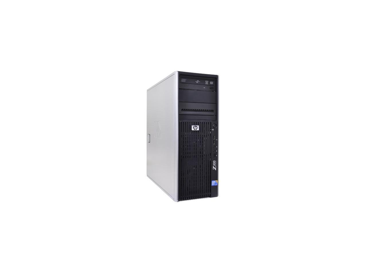 HP Z400 Workstation, Xeon Quad-Core, 3.2GHz, 8GB Ram, 1 TB Hard Drive, NVS 290 Video Card (Refurb) $230