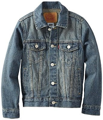 Levi's Boys' Denim Trucker Jacket (color: Atlas; size: S-XL) for $25 @Amazon $24.99