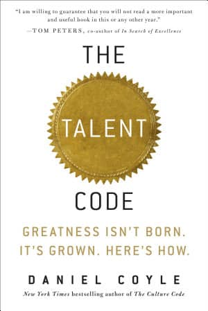The Talent Code: Greatness Isn't Born. It's Grown… (Kindle ebook) $2.99 down from $14