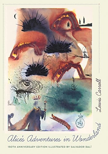 Alice's Adventures in Wonderland [Print Replica] wonderful illus. by Salvador Dalí (Kindle ebook) list price $25 now $2.85