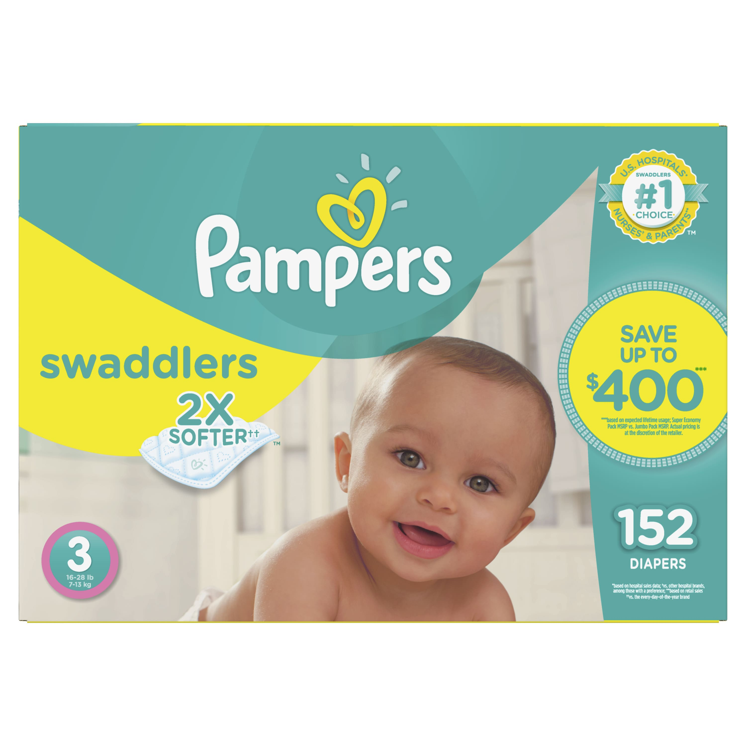 $8 off Pampers Diapers and Wipes (when you buy 2 at Sam's Club)