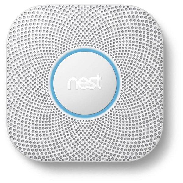 Nest Smoke & Carbon Monoxide Detector + Google Home Mini - $83 + Tax (YMMV) $90.17