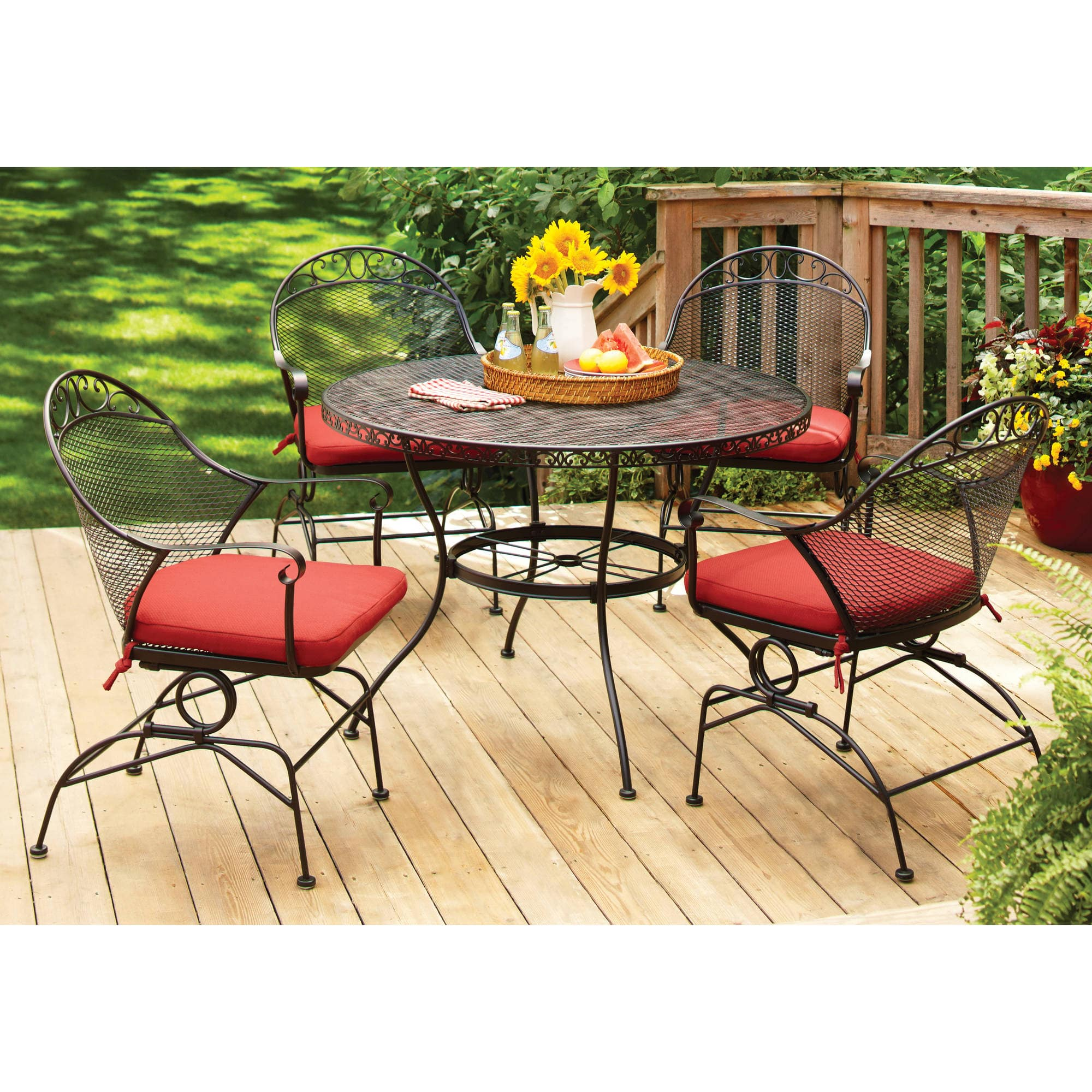 Walmart Better Homes and Gardens Clayton Ct 5 Piece Dining Set