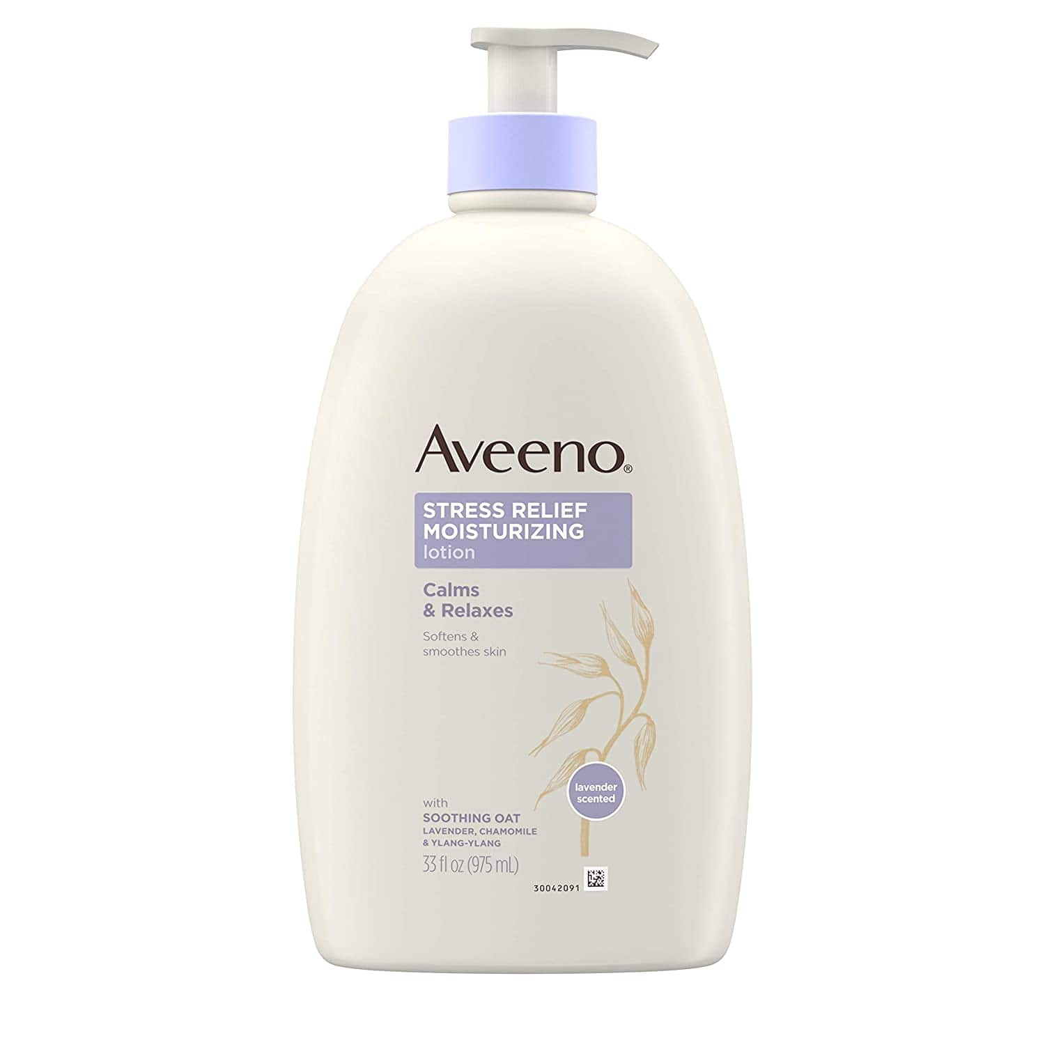 33-Oz Aveeno Stress Relief Moisturizing Body Lotion with Lavender, Natural Oatmeal and Chamomile & Ylang-Ylang Essential Oils to Calm & Relax $9.47