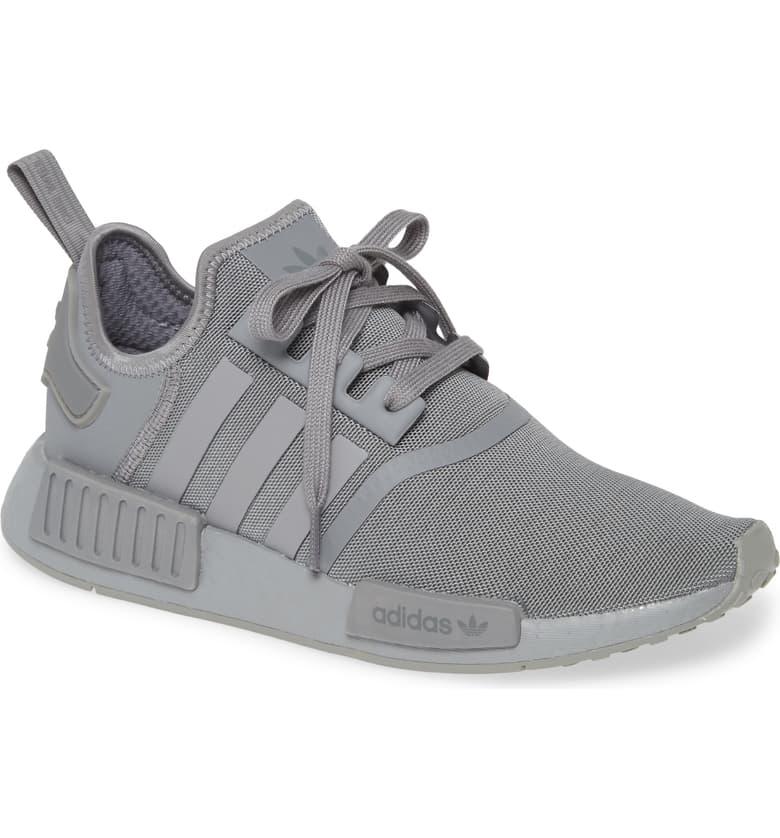 adidas Men's NMD R1 Sneakers (Grey)