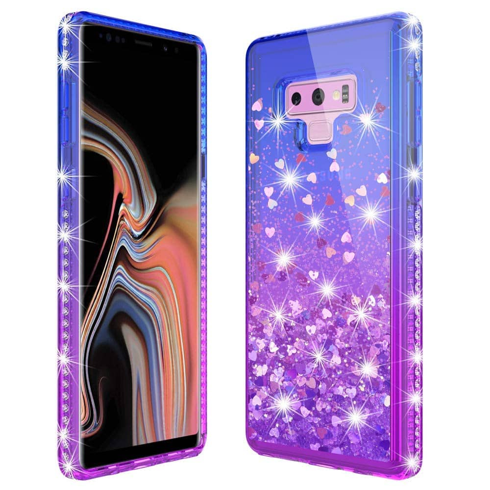 the best attitude 57abe 2e1b1 Samsung Galaxy Note 9 Gradient Liquid case, TPU case, Flower case ...