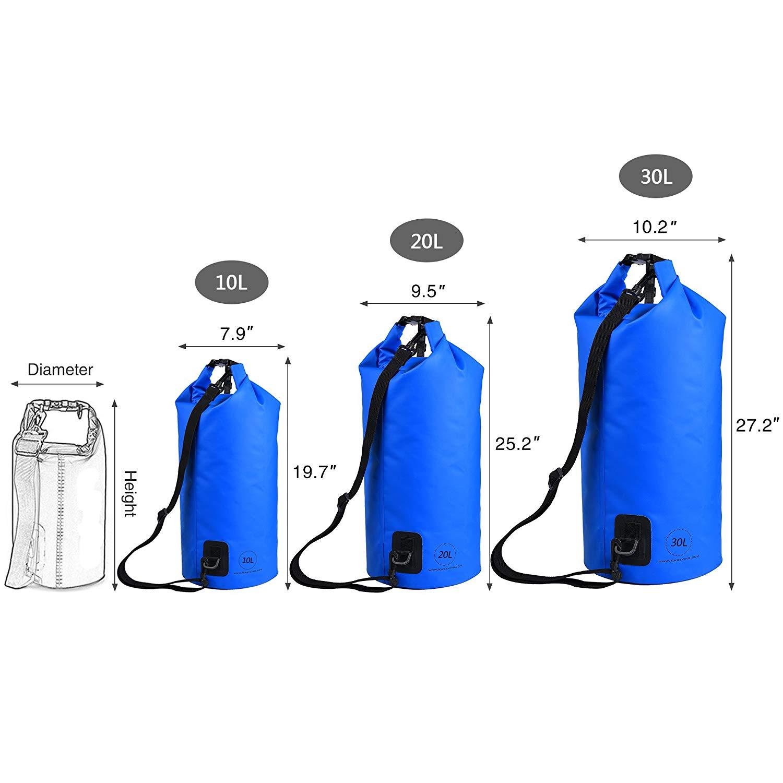KastKing Waterproof Dry Bag 10L 20L 30L 4ef0423ffeaa1