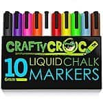 *Highly rated*CraftyCroc Liquid Chalk Markers 30% off at AMAZON FSSS $15.29