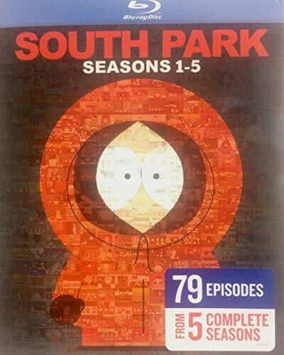 South Park Blu-Ray Sets on Sale - $33.88 Each - Free Shipping