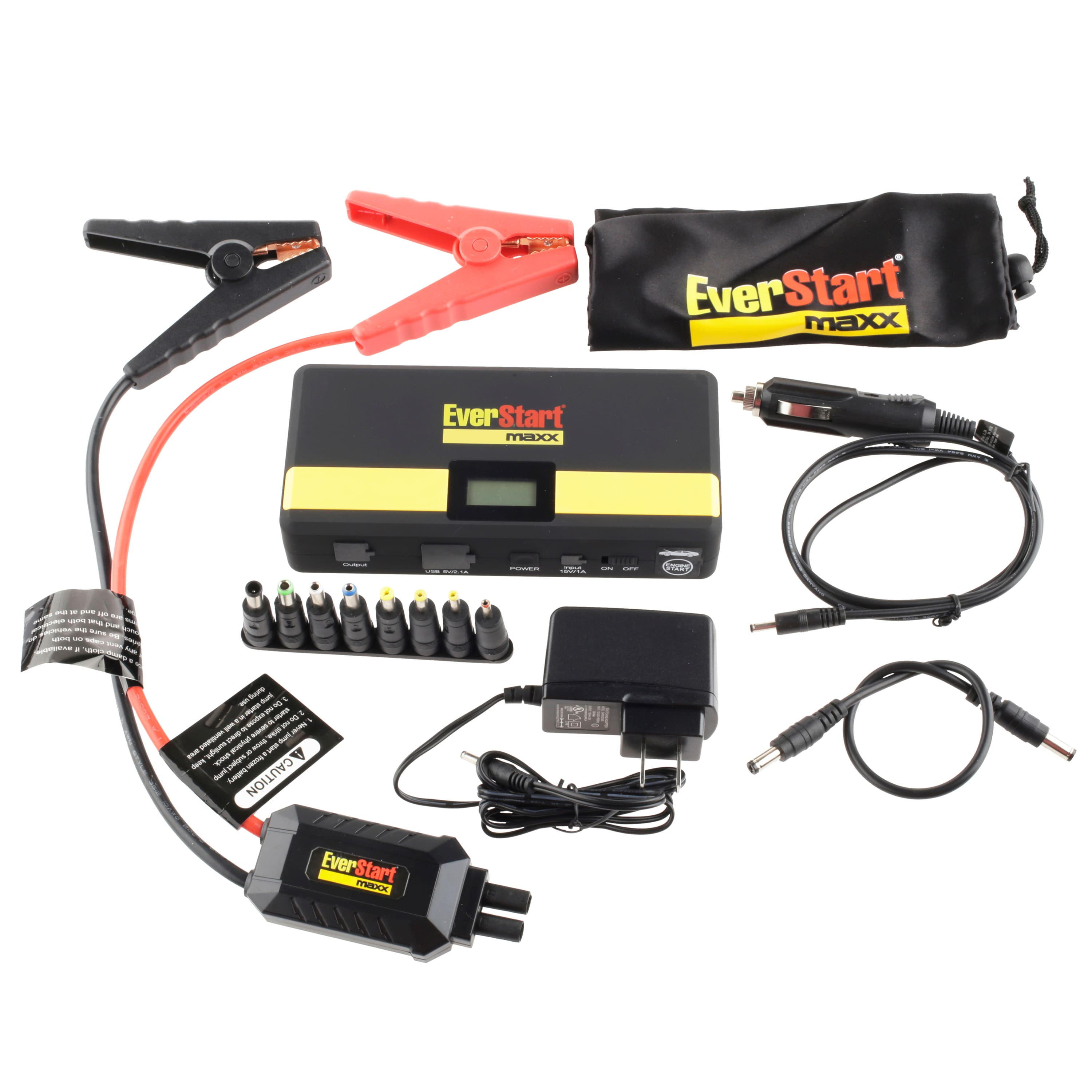 Everstart 600 Amp Lithium Ion Jump Starter Bundle (In store ymmv) $21