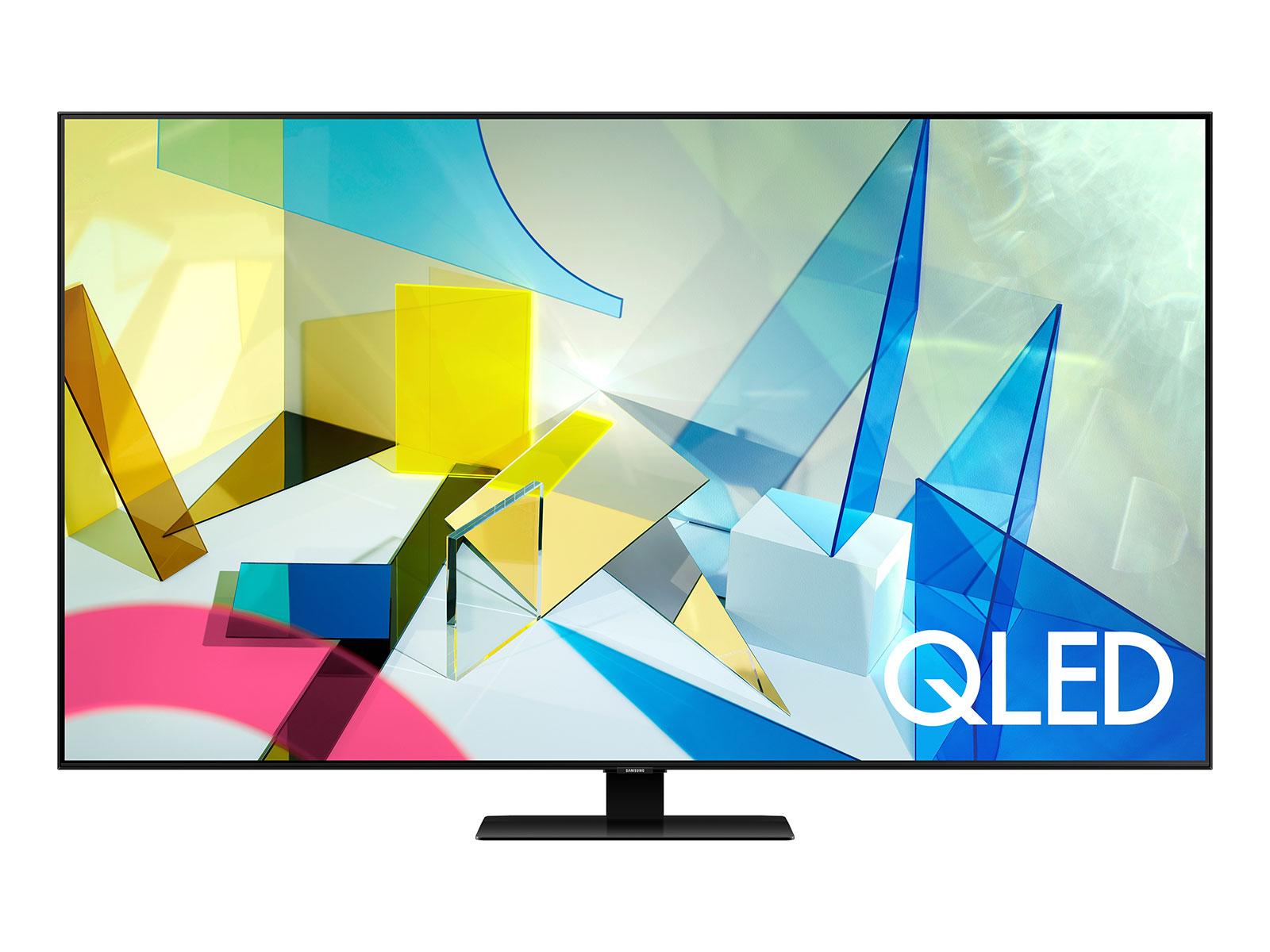 "Samsung QN65Q8DTAFXZA 65"" Class (64.5"" Diag.) 4K Ultra HD HDR Smart QLED TV - Refurbished - Micro Center - $799.99"