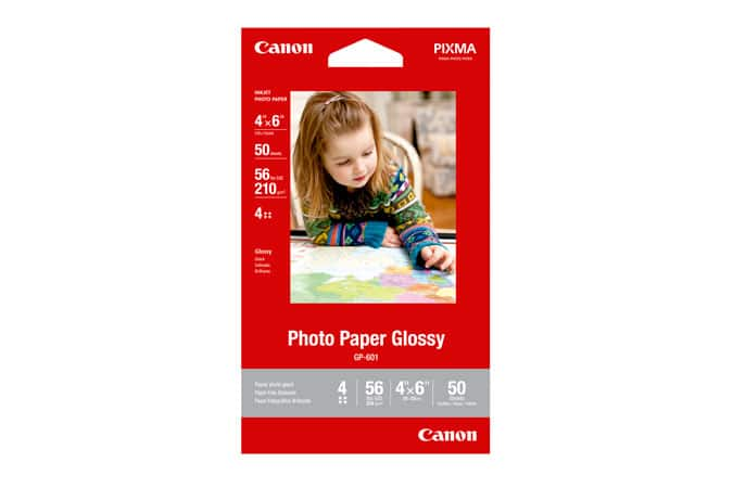 Canon  Photo Paper Glossy 4x6 (50 Sheets)  Buy 1, Get 9 FREE - 10X50 sheets $5 + tax Free Shipping