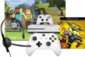 Xbox One S Choice with Free Controller, Headset and Movie Code - Best Buy - $279.99