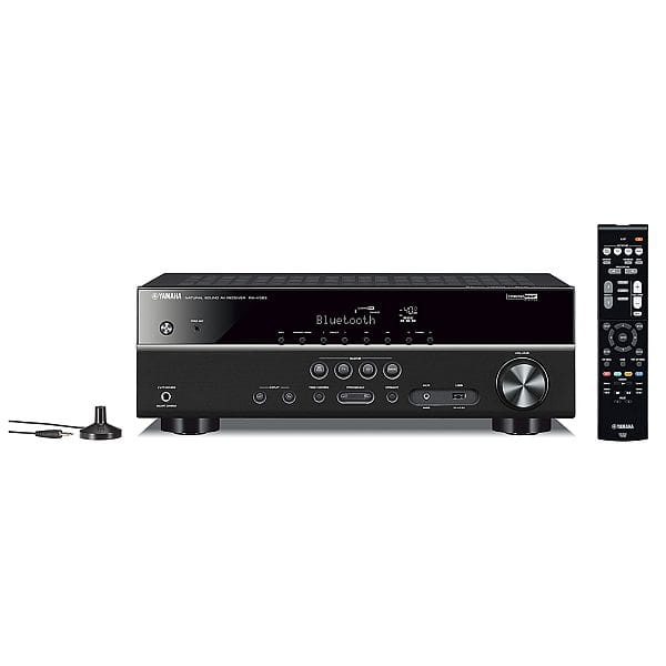 Yamaha RX-V383BL 5.1-Channel 4K Ultra HD AV Receiver with Bluetooth $249.99 - Amazon