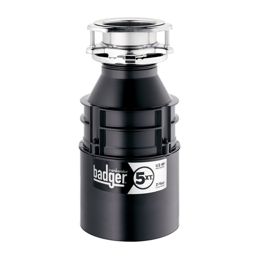 InSinkErator Badger 5Xt 1/2-Hp Continuous Feed Garbage Disposal $59.99 @ Lowe's CLEARANCE