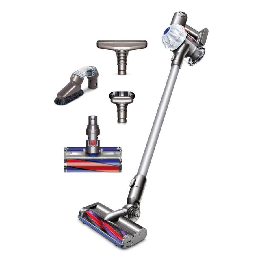 Dyson V6 Cordless Cordless Bagless Stick Vacuum with Bonus Cleaning Tools @ Lowe's $279 Ends on 11/4