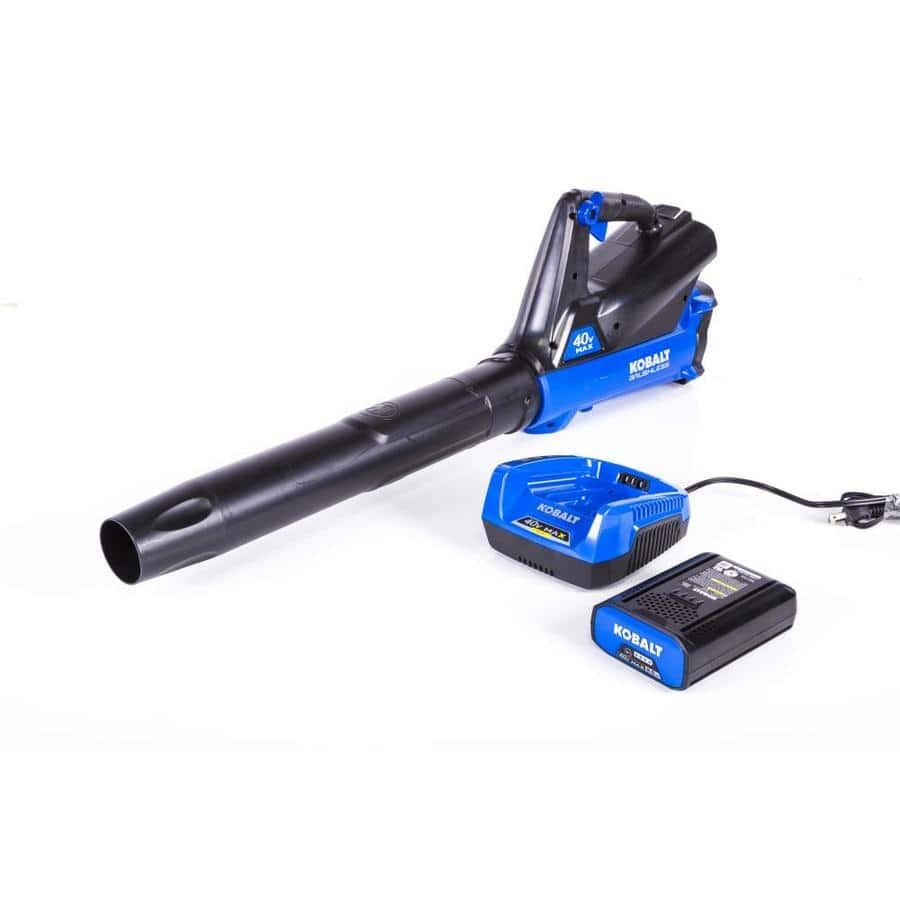 Kobalt 40-volt Max Lithium Ion 350-CFM 100-MPH Medium-Duty Cordless Electric Leaf Blower $89 @ Lowe's