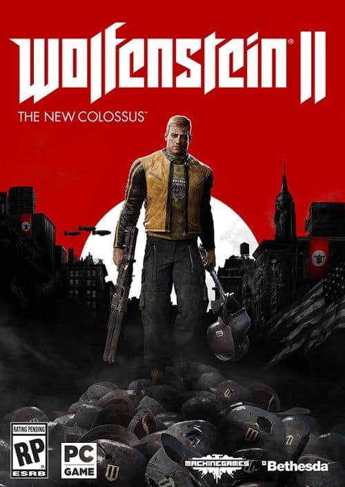 Wolfenstein II 2: The New Colossus PC $12.79 - CDKeys (Digital World-Wide)