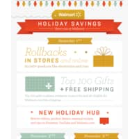 Walmart Deal: Walmart Holiday Sale Followed By 24-Hour Cyber Event on (11-1 to 11-3) With Nintendo 2DS at $79, Other