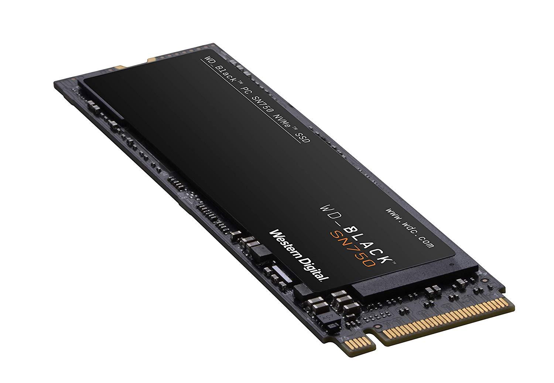 WD BLACK SN750 500GB NVMe Internal Gaming SSD - Gen3 PCIe, M.2 2280, 3D NAND - WDS500G3X0C [SSD] $71.99