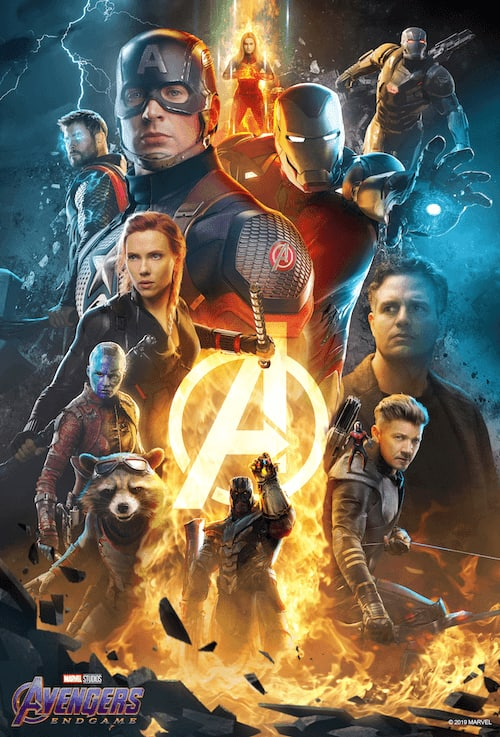ATOM: Avengers: Endgame tickets pre-order - Free-ish promotional poster ($9)