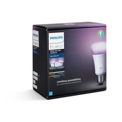 Target Circle Members: 20% off Select Philips Hue Lighting ~IN STORE ONLY~ $160 4 Bulb Color Kit, $12 White Bulb