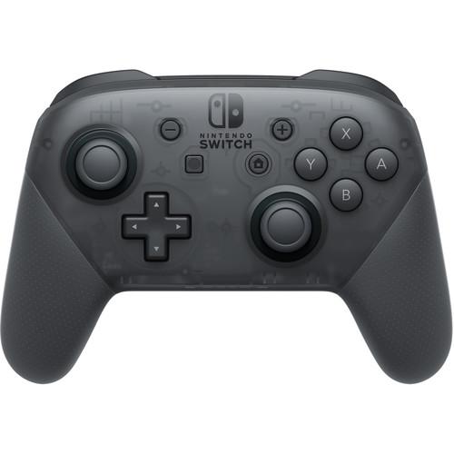Nintendo Switch Pro Controller (Black) $59.55 + Free Shipping  (B&H)