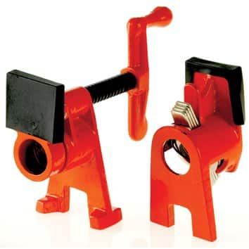 """Bessey Tools 3/4"""" H Style Pipe Clamps $11.99"""