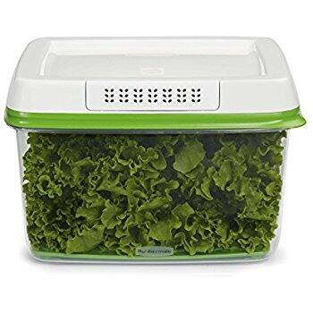 Add on Item Rubbermaid FreshWorks Produce Storage Container Large