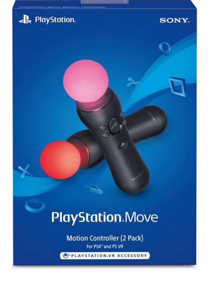 PlayStation Move Motion Controllers - 2 Pack $70.97