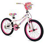 "20"" Kent Girls' Sweetheart Bike $59 at Walmart (Free Pickup)"