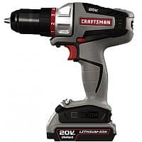Sears Deal: Craftsman Bolt-On 20V Max Lithium Ion Drill/Driver Kit 16496 - $50