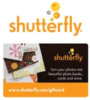FREE $20 Shutterfly Gift Card and $20 Keepsake