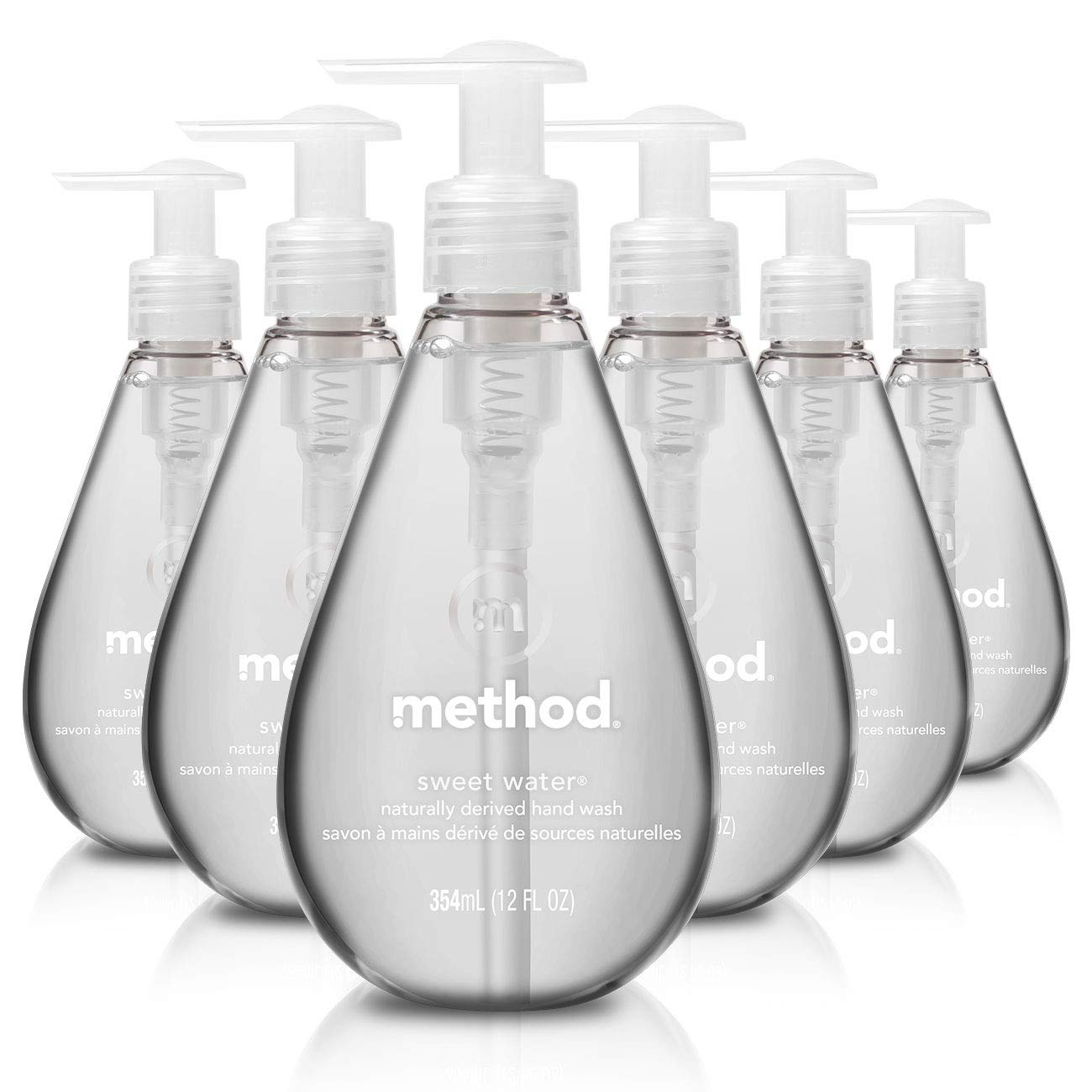 6-Pack 12 oz. Method Gel Hand Soap (Sweet Water or Waterfall) for $11.91 w/ S&S
