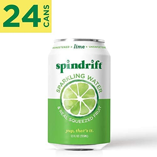 24-Pack 12 oz. Spindrift Sparkling Water Made with Real Squeezed Fruit (Multiple Flavors) for $13.48 AC w/ S&S