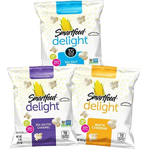 36-Count Smartfood Delight Popcorn Variety Pack for $10.22 AC and S&S