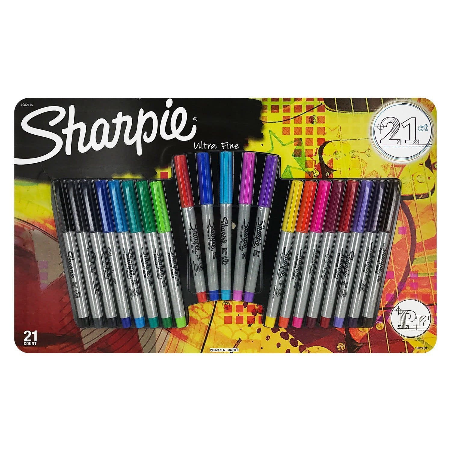 21-Count Sharpie Ultra Fine Point Permanent Markers for $8.68