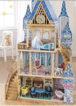 Disney Princess Cinderella Royal Dreams Wooden Dollhouse w/ Furniture $30-49 @ Walmart YMMV