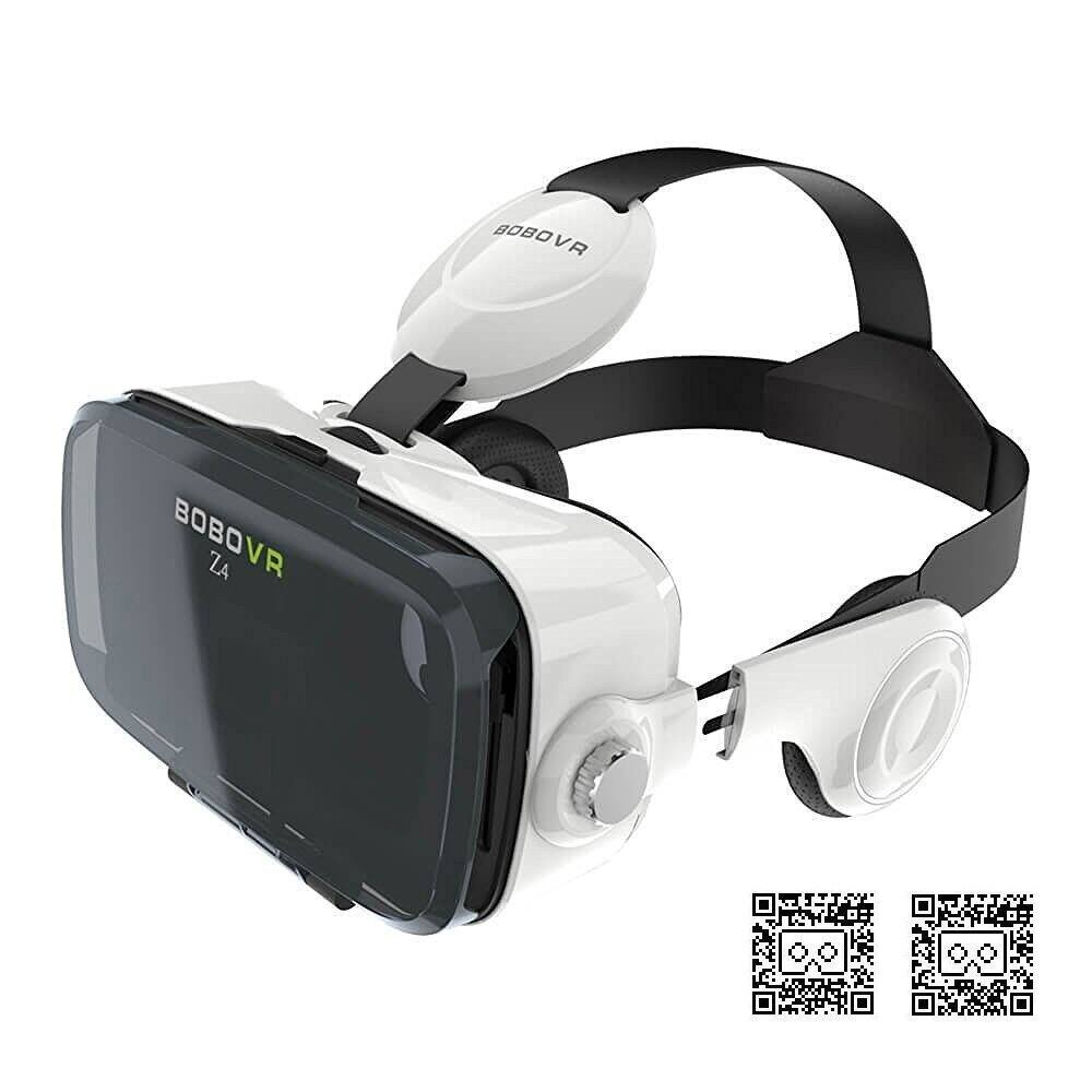 Xiaozhai BOBOVR Z4 Virtual Reality Headset 3D Glasses Box with Adjustable Focal Distance and Headphone for Smartphones [BOBOVR Z4] $9.99