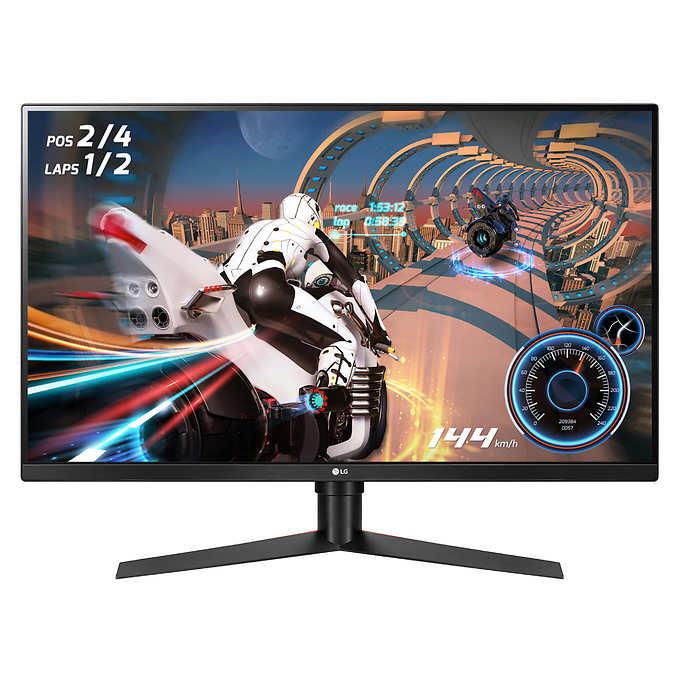 LG 32GK850F-B 32 inch VA QHD HDR FreeSync 2 Monitor $360