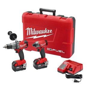 $399 Milwaukee 2897-22 M18 Fuel 2-tool Combo Kit (with free tool) plus $20 0ff $379
