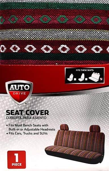 1PC BENCH SEAT COVER $5.34 Walmart Free Pickup or Free Ship Over $35