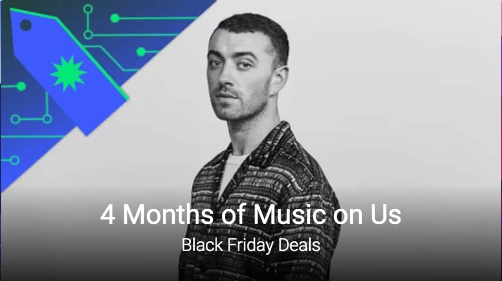 4 Months of Google Play Music (Youtube Red) for Free-Black Friday Deals in Play Store