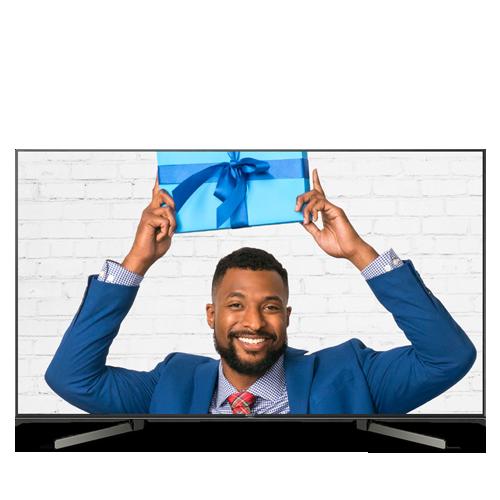 """Sony 65"""" LED X950G Series 4K Ultra HD HDR Smart TV XBR65X950G 2019 + $300 GC $1398"""