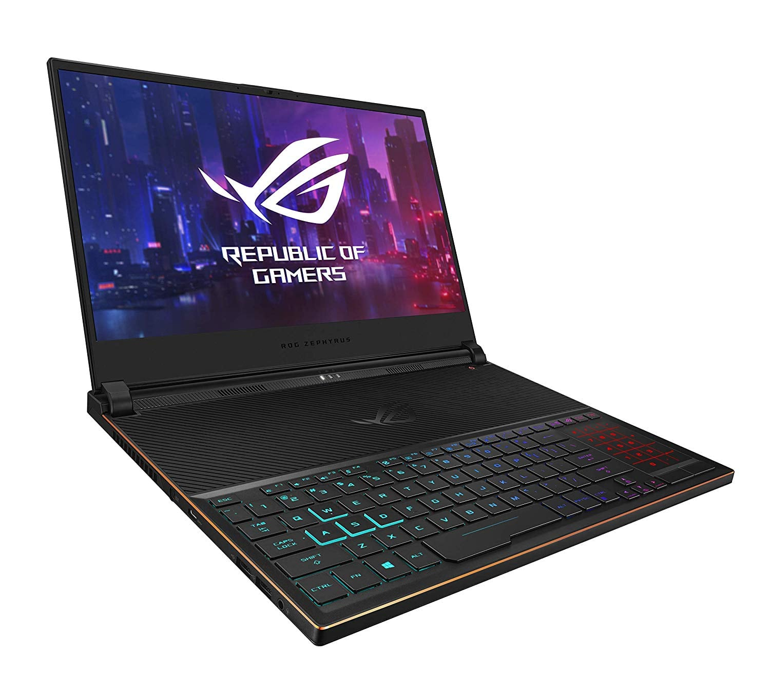 "Asus ROG Zephyrus S Ultra Slim Gaming Laptop, 15.6"" 144Hz IPS Type FHD, GeForce RTX 2070, Intel Core i7-9750H, 16GB DDR4, 512GB PCIe Nvme SSD,Windows 10 $1199"
