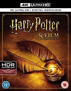 Harry Potter 8 Film 4k UHD Collection Pre-Order Amazon UK $102.11