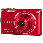 "Fujifilm FinePix JX660 16 MP Digital Camera (Refurbished) - $43.99 FS @ iTechDeals - Red, 5X optical zoom, 720p video, 2.7"" LCD, Li-ion rechargeable battery"