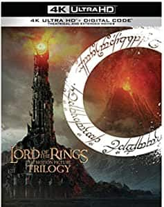 Lord of the Rings: Motion Picture Trilogy (Extended & Theatrical)(4K Ultra HD + Digital) [Blu-Ray] @ Amazon w/ FS $77.97