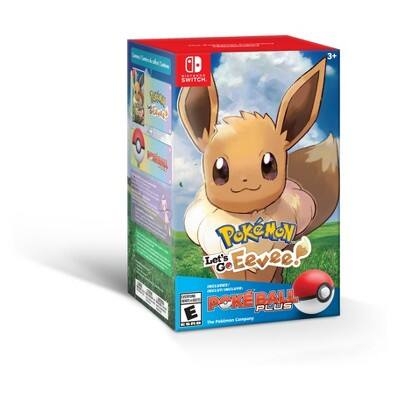Nintendo Switch Pokemon Let's Go Bundle Eevee (in store only) availability may vary. $49.99