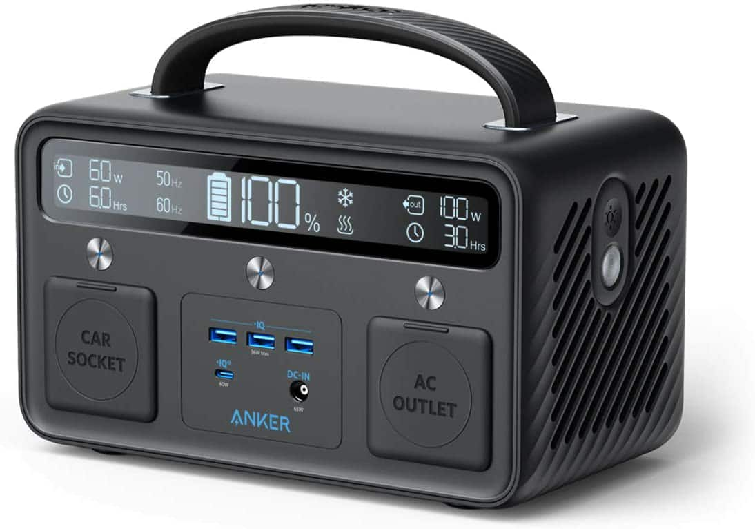Amazon.com: Anker Portable Generator for Home Use, PowerHouse II 400, 300W/388.8Wh, 110V AC Outlet/60W USB-C Power Delivery Portable Power Station $299